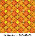 abstract floral seamless... | Shutterstock . vector #288647630