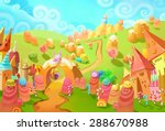 illustration  welcome to the... | Shutterstock . vector #288670988