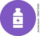 medicine  bottle  pill icon... | Shutterstock .eps vector #288673400