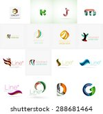 set of new universal company... | Shutterstock . vector #288681464