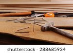 workplace with construction... | Shutterstock . vector #288685934