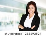 business woman at the office...   Shutterstock . vector #288693524