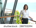 woman architect working in home ...   Shutterstock . vector #288703394