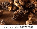 Raw Organic Morel Mushrooms...