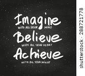 conceptual handwritten phrase... | Shutterstock .eps vector #288721778