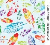 crazy beautiful imprint... | Shutterstock .eps vector #288724844