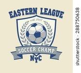 soccer football logo  sport cup ... | Shutterstock .eps vector #288750638