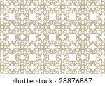 decorative wallpaper design in... | Shutterstock .eps vector #28876867