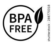 bpa bisphenol a and phthalates... | Shutterstock .eps vector #288770318