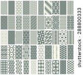50 geometric seamless pattern...   Shutterstock .eps vector #288800333