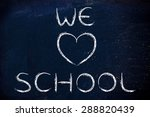 illustration with writing we... | Shutterstock . vector #288820439