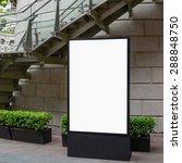 one big vertical   portrait... | Shutterstock . vector #288848750