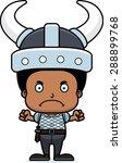 a cartoon viking boy looking... | Shutterstock .eps vector #288899768