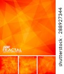 fractal abstract background | Shutterstock .eps vector #288927344
