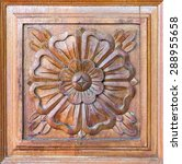 Blooming Flower Carving Of The...