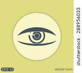 eye icon   Shutterstock .eps vector #288956033