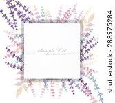 lavender background | Shutterstock .eps vector #288975284