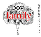 family info text graphics and... | Shutterstock .eps vector #288999146