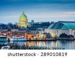 Annapolis  Maryland  Usa Town...