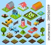 Farm Toy Blocks Modeling Mill...
