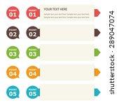 banner label design | Shutterstock .eps vector #289047074