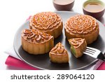 Mooncake And Tea Chinese Mid...