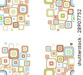 seamless stylish pattern. | Shutterstock . vector #28907752