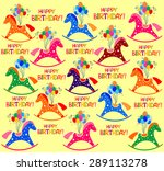 happy birthday  celebration...   Shutterstock .eps vector #289113278