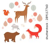 Forest Animals Collection. ...