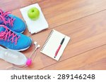 workout and fitness planning... | Shutterstock . vector #289146248