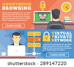 anonymous browsing  virtual... | Shutterstock .eps vector #289147220