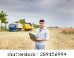 Young Attractive Farmer With...