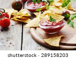 Concept Of Mexican Food With...
