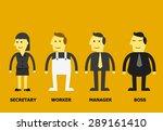 business character | Shutterstock .eps vector #289161410