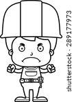 a cartoon construction worker... | Shutterstock .eps vector #289177973