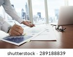 business documents on office... | Shutterstock . vector #289188839