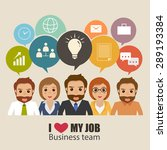 Business People Info Graphic...