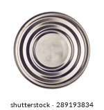 canned isolated on a white... | Shutterstock . vector #289193834