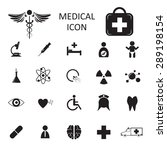 vector medical icon isolated | Shutterstock .eps vector #289198154