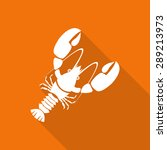 seafood flat icon with long... | Shutterstock .eps vector #289213973