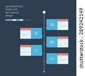 timeline infographics template. ...