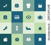 clothes icons universal set for ... | Shutterstock .eps vector #289249148