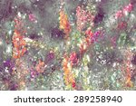 Abstract Flower Painting....
