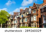 typical residential brick... | Shutterstock . vector #289260329