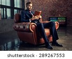 Young Handsome Businessman With ...