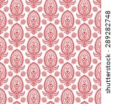 paisley seamless pattern  hand... | Shutterstock .eps vector #289282748