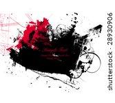 ink splash background | Shutterstock .eps vector #28930906