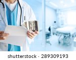 doctor with mammography | Shutterstock . vector #289309193