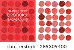 multicolored lipsticks cut...   Shutterstock . vector #289309400