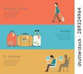 vector illustration set of... | Shutterstock .eps vector #289324964